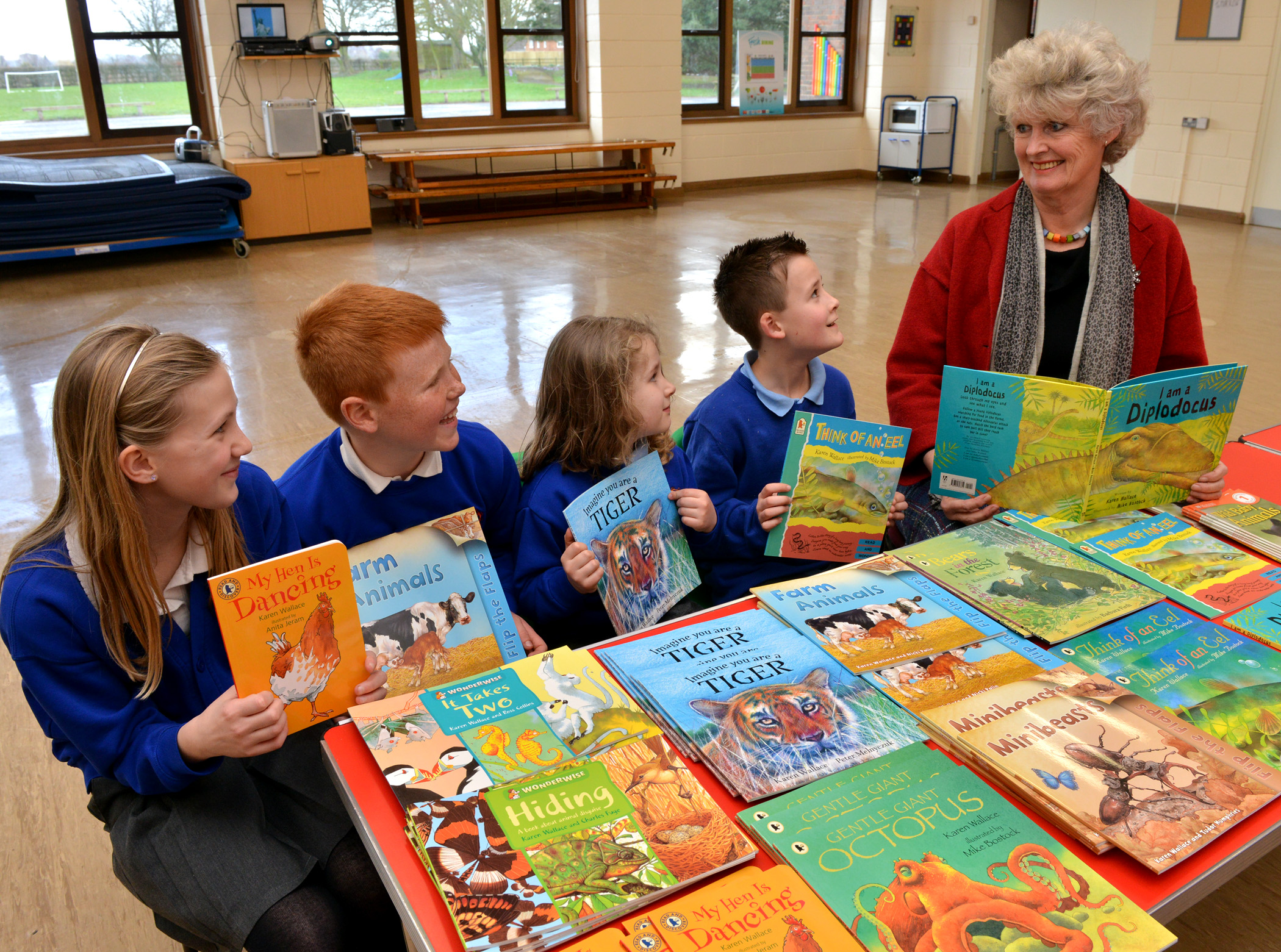 Book Week 2014 - A visit to Hodnet Primary School